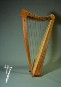 Keltische Harfe Corvin
