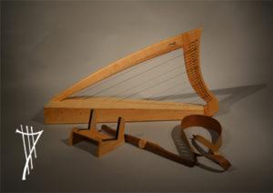 Kleine Harfe Sorellina
